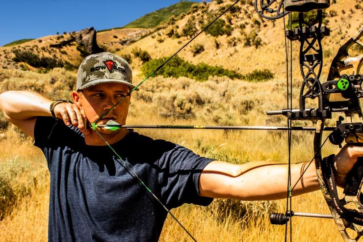 Archery practice